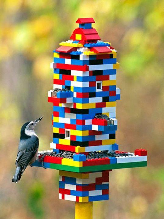 Lego Bird Feeder.