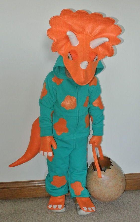 Triceratops Costume.