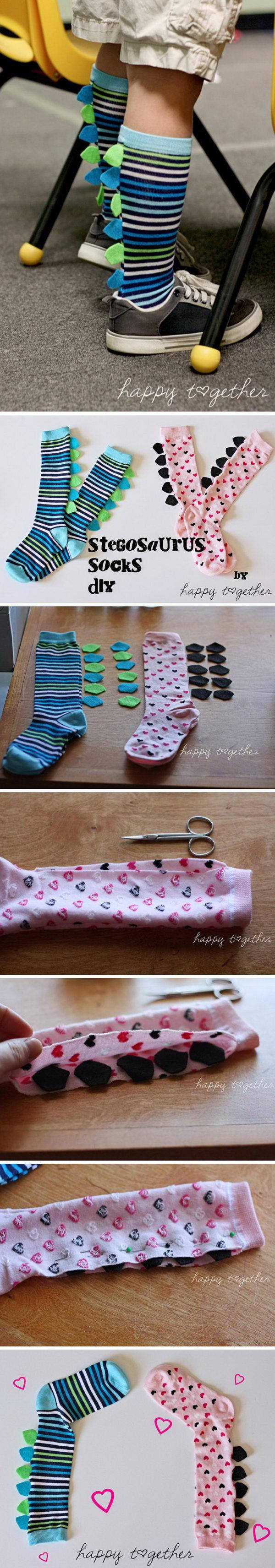 Dinosaur Socks.