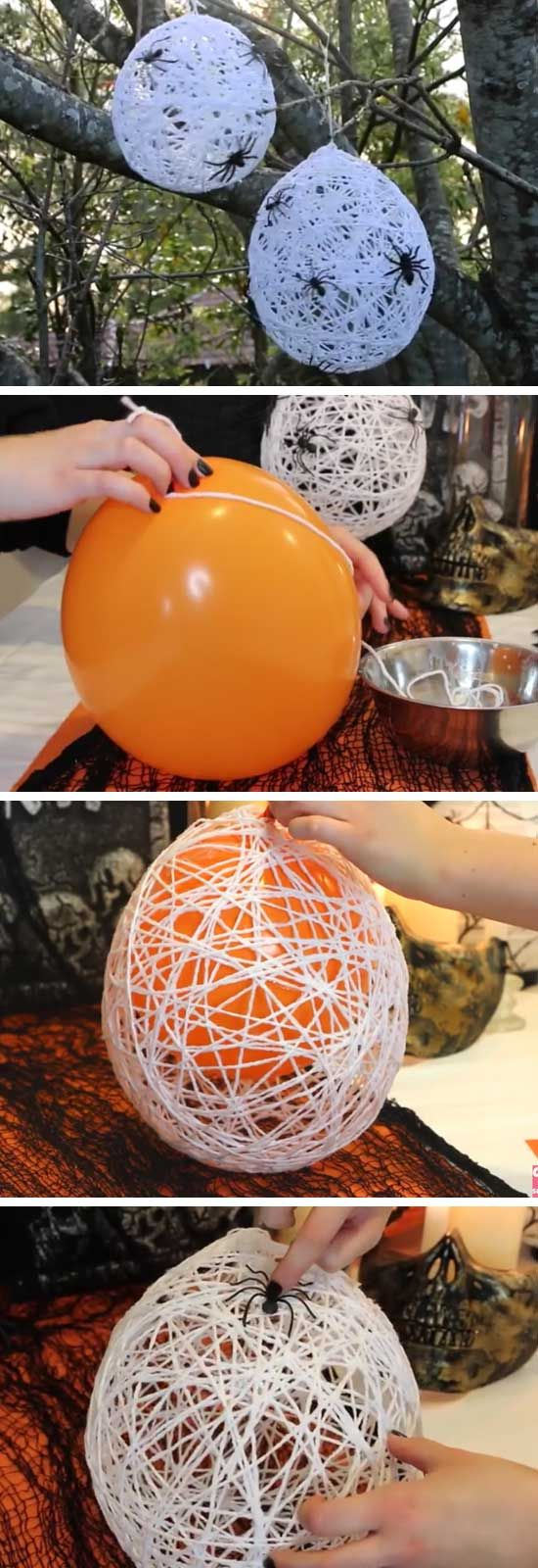 Balloon Spider Web.