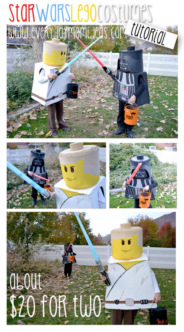 Lego Star Wars Costumes.