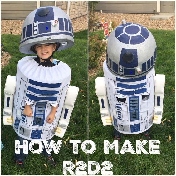 R2D2 Costume.